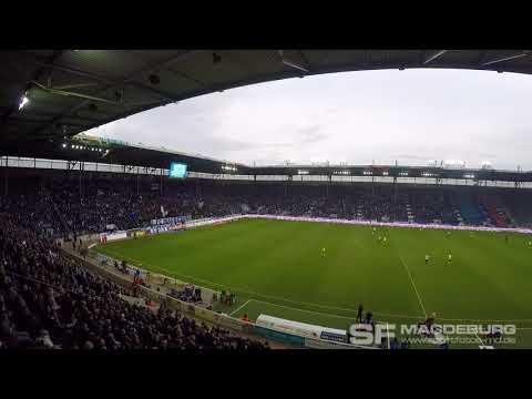 Video: Blocktrennung durch Wandern - 1. FC Magdeburg gegen SV Wehen Wiesbaden (HD Nov 2017)