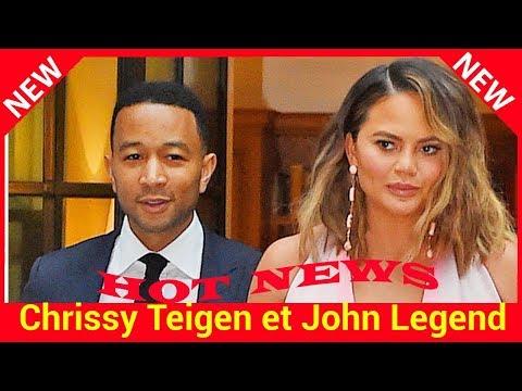 Chrissy Teigen et John Legend parents pour la deuxième fois : leur fils est né