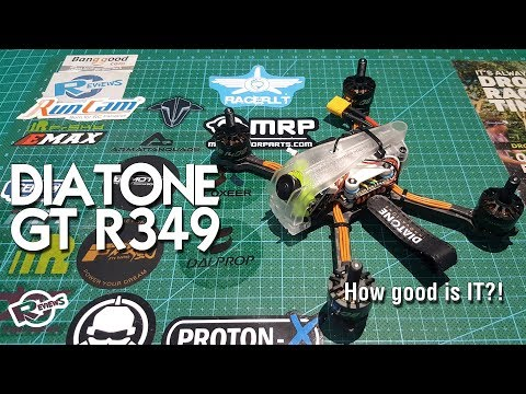Diatone R349 - 3inc race quad! BangGood Winter joy