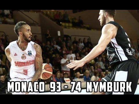 BCL — Monaco 93 - 74 Nymburk — Highlights