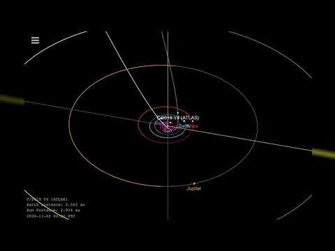 Τοξικός κομήτης κατευθύνεται προς τη Γη – Μας είχε ξαναεπισκεφτεί όταν φτιάχνονταν οι πυραμίδες