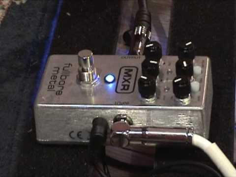 gearmanndude Fullbore Metal guitar effects pedal d