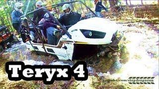 3. Kawasaki Teryx 4 Seater Mudding ATV 4x4