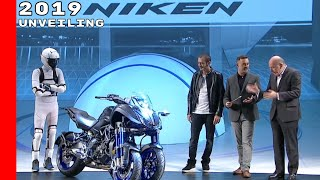 10. 2019 Yamaha Niken Unveiling
