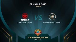 GMB vs EPG - Неделя 5 День 1 Игра 2 / LCL