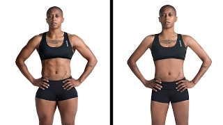 Athletic Women Get Their Muscles Photoshopped Away