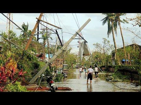 Φιλιππίνες: Φονικό το πέρασμα του τυφώνα Νοκ-Τεν