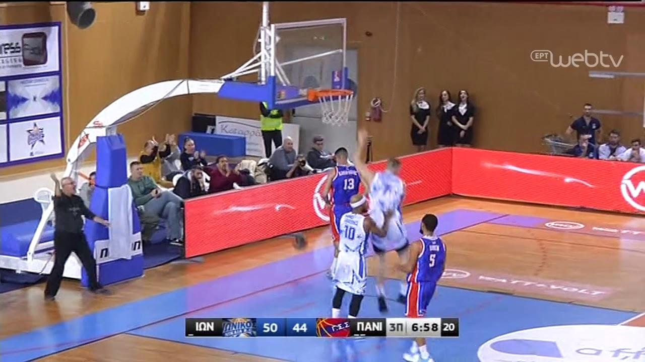 Basket League 2019-2020: ΙΩΝΙΚΟΣ – ΠΑΝΙΩΝΙΟΣ   HIGHLIGHTS   21/12/2019   ΕΡΤ