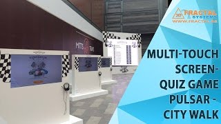 Multi-Touch Screen-Quiz Game-Pulsar-City Walk