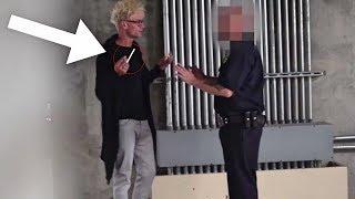 Video BEST Smoking Cop Pranks (NEVER DO THIS!!!) - POLICE SECURITY MAGIC PRANKS COMPILATION 2018 MP3, 3GP, MP4, WEBM, AVI, FLV Desember 2018