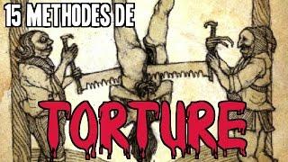 Video 15 MÉTHODES DE TORTURE QU'ON NE SOUHAITE À PERSONNE |  Pire Instrument De Torture Du Moyen Age MP3, 3GP, MP4, WEBM, AVI, FLV Mei 2017