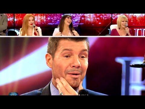 Las mujeres del jurado no pararon de piropear a Tinelli #Showmatch #Bailando2015