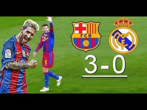 Real Madrid vs Barcelona 0 3   All Goals & Highlights   23 12 2017 HD