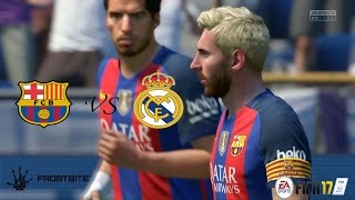 Video FIFA17 - El Clásico Barcelona vs Real Madrid - La Liga ( Modo Lendário ) Playstation 4 MP3, 3GP, MP4, WEBM, AVI, FLV Oktober 2017