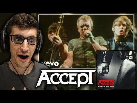 """MY FIRST TIME Hearing ACCEPT - """"Balls to the Wall"""" (REACTION)"""
