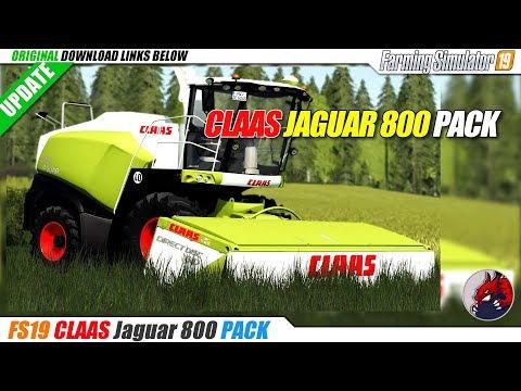 Claas Jaguar 800 Pack v1.0.0.5