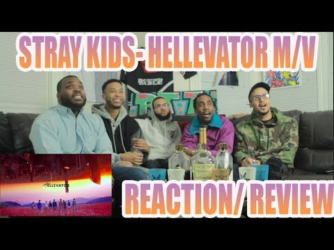 Video FIRST STRAY KIDS- HELLEVATOR M/V REACTION/ REVIEW download in MP3, 3GP, MP4, WEBM, AVI, FLV January 2017