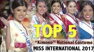"Video Miss International 2017: Top 5 Press Conference & ""Kimono"" Contestants (HD) MP3, 3GP, MP4, WEBM, AVI, FLV Maret 2018"