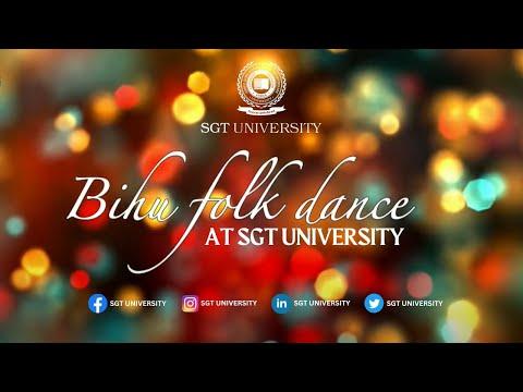 Video Bihu , a folk dance( tea garden) style of Assam at SGT University download in MP3, 3GP, MP4, WEBM, AVI, FLV January 2017