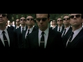 The Matrix Reloaded (2003) Neo vs Smith Fight Scene (2/2) HD
