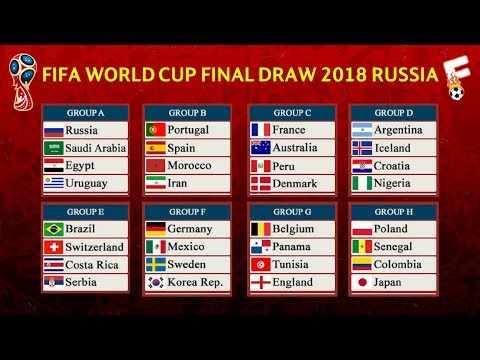 OFFICIAL FIFA World Cup 2018 Final Draw Result  ⚽ TICKETS & GUIDE TO THE FINALS IN RUSSIA