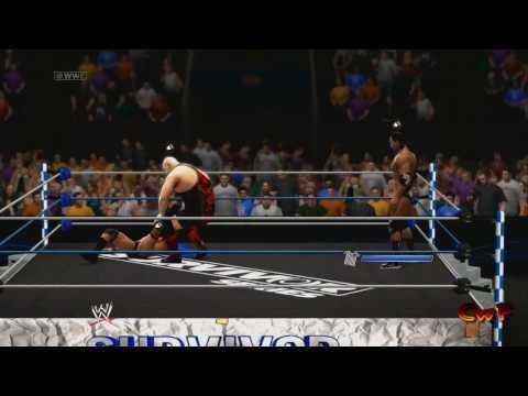 WWE 2K14 CwF Survivor series King of submission championship match Survivor series