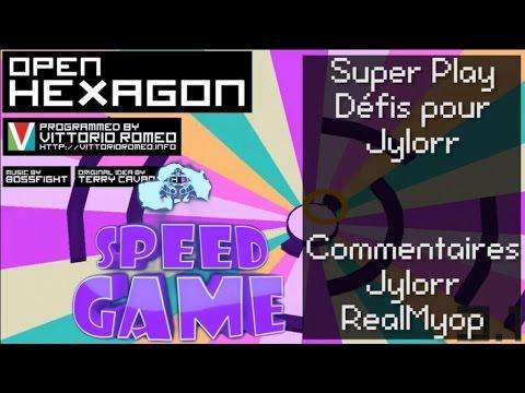 speed - Speed Game Hors-série sur Open Hexagon, version gratuite et ouvert de Super Haxagon. Un live en compagnie de Jylorr qui réalisera des performances incroyables en terme de réflexes et de...