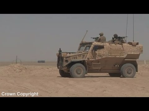 Inside the Foxhound light patrol vehicle – the army's replacement for the Snatch Landrover