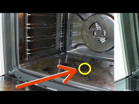 Backofen reinigen: Sofort sauberen Ofen ohne Schrubben und Chemie mit diesem kleinen Trick.