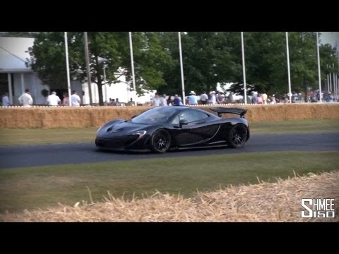 How Many Mclaren P1 Were Made >> Two McLaren P1 Supercars at Goodwood 2013 - autoevolution