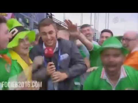 Best Of Irish Fans At Euro 2016 | Compilation | Funny Moments