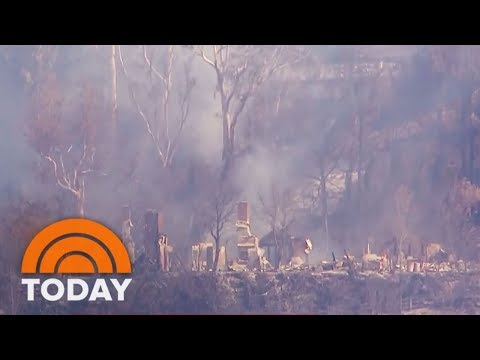 California Wildfires Send Hundreds Of Thousands Fleeing From Their Homes | TODAY