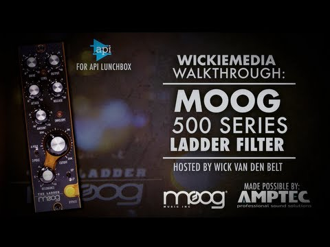 MOOG 500 series Ladder Filter (Complete Walkthrough)