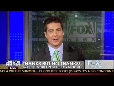 Jesse Watters Tells His Wedding-Day Bill O'Reilly Story!
