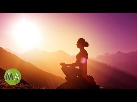 Deep Theta Meditation 5.5Hz Isochronic Tones With Metal Crystal Bowls and Rain