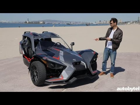 2018 Polaris Slingshot Grand Touring LE Test Drive Video Review