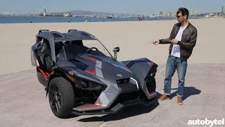 6. 2018 Polaris Slingshot Grand Touring LE Test Drive Video Review