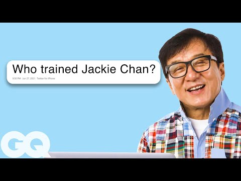 Jackie Chan Goes Undercover on the Internet