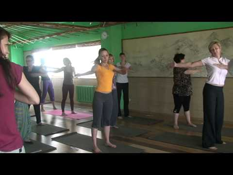 Йога в магнитогорскейога-студия солнечный ветер