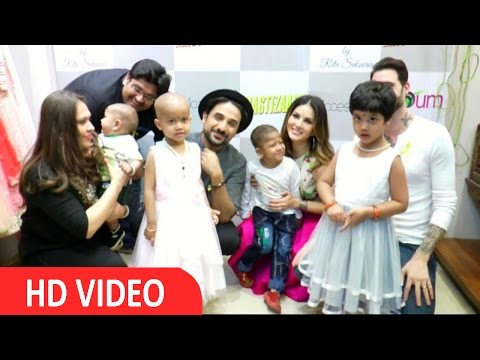 Sunny Leone & Vir Das At Support Cancer Awareness Campaign