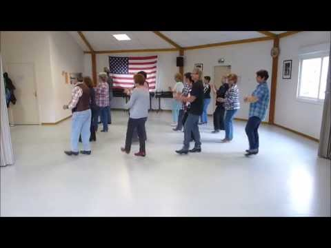 My first country line dance