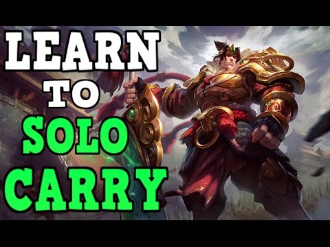 UNRANKED TO RANK 1 GAREN ONLY!! THEGLACIERR BEST GAREN NA!! LEARN TO SOLO CARRY!!