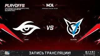 Secret vs VGJ.Storm, MDL Major, game 1 [Lex, Inmate]