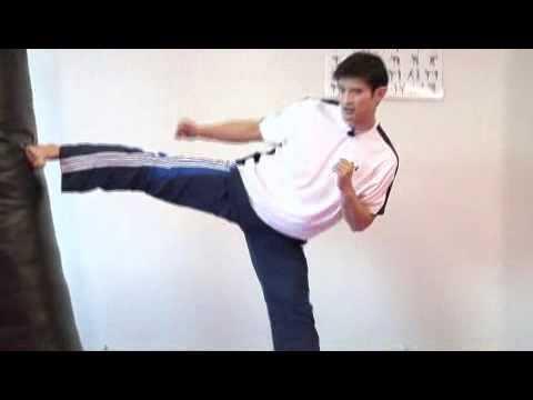 How To Perform A Side Kick In Karate