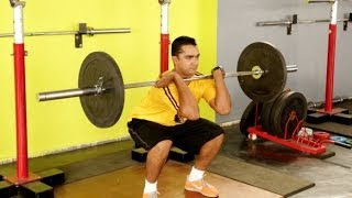TAMIL: How to Do a Clean - CrossFit Exercises