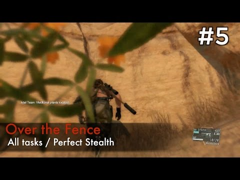 【MGSV:TPP】Episode 5 : Over the Fence (S Rank/All Tasks/Perfect Stealth)