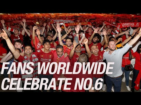 Liverpool fans across the globe react to Champions League win | JOYOUS SCENES from 36 cities