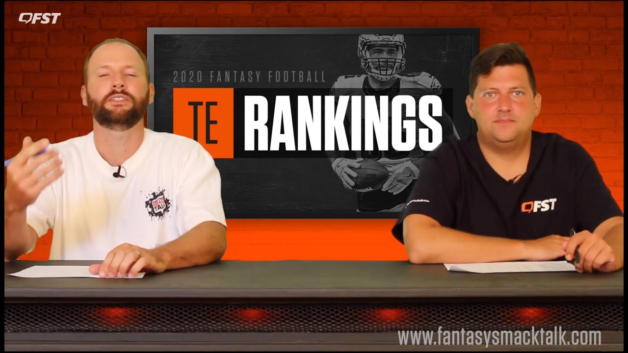2020 Fantasy Football Tight End Tiers and Rankings thumbnail
