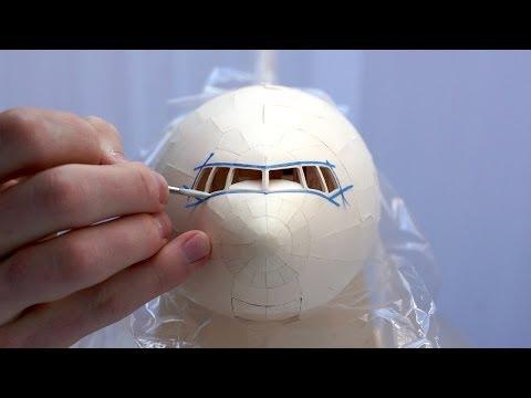 知道他花5年製作「紙飛機」時還笑說他是手殘吧,結果一看到完成品我下跪道歉了!