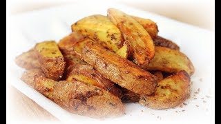 For prepare Baked Roasted Potatoes we will need: - 1 kg of potatoes - 3 tbsp olive oil - salt - spices, oregano Bake at a ...